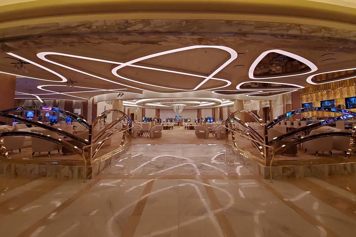 Resorts World Las Vegas opens Thursday night. (Chase Stevens/Las Vegas Review-Journal) @cssteve ...