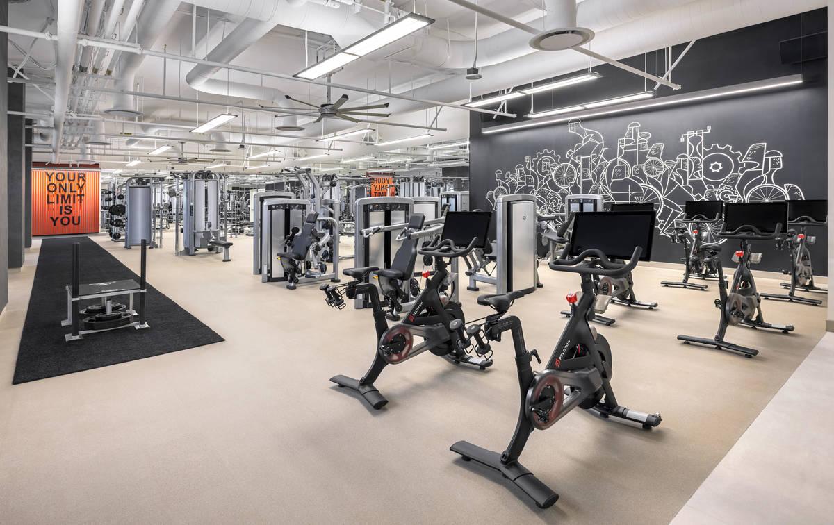 Resorts World Las Vegas Fitness Center. (Resorts World Las Vegas)