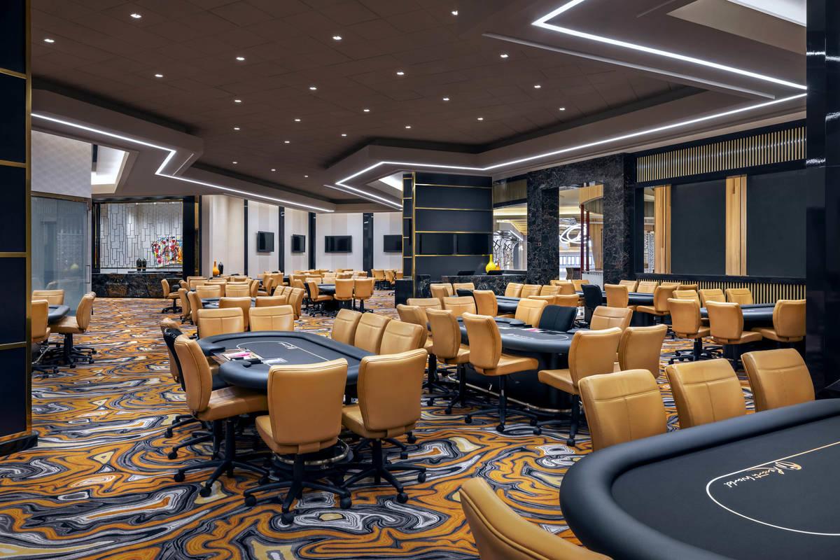 Resorts World Las Vegas Poker Room. (Resorts World Las Vegas)