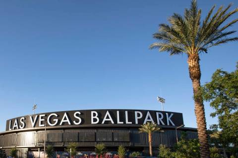 The Las Vegas Ballpark before a Las Vegas Aviators game against the Sacramento River Cats on Tu ...
