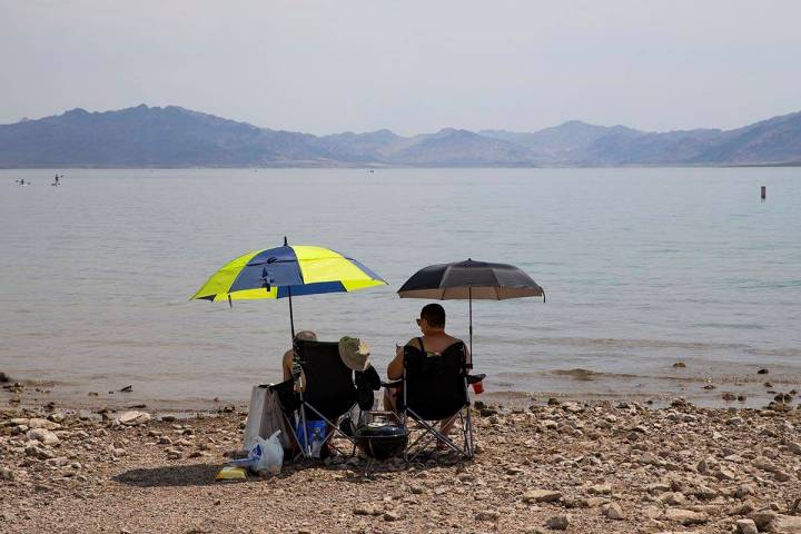 Weather conditions could bring some rain to the parched Las Vegas Valley on Thursday, June 24, ...