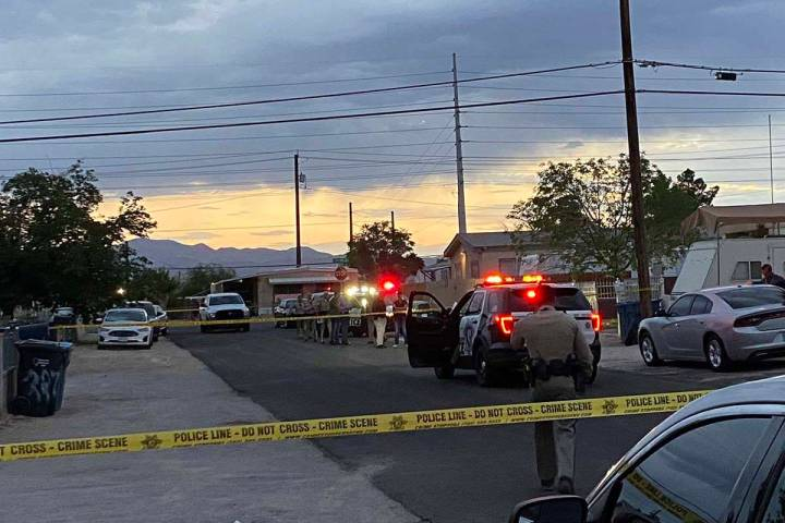A man has been booked at a Southern Nevada jail on murder and other charges in the slaying of h ...