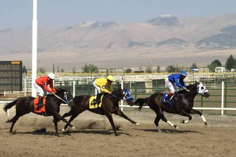 White Pine Races on Sunday, August 19, 2018 in Ely. (Mike Brunker/Las Vegas Review-Journal)