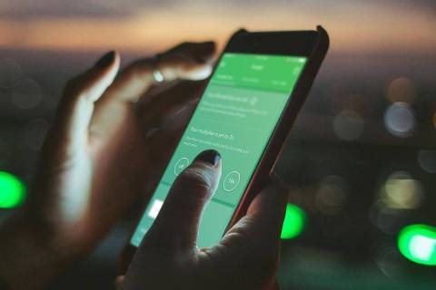 Acorns is a financial services app that rounds up your purchases and deposits the additional fu ...