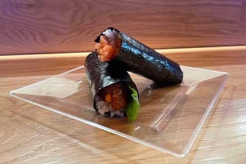 Sushi from Nori Bar at Resorts World on Thursday, June 24, 2021. (Janna Karel/Las Vegas Review- ...