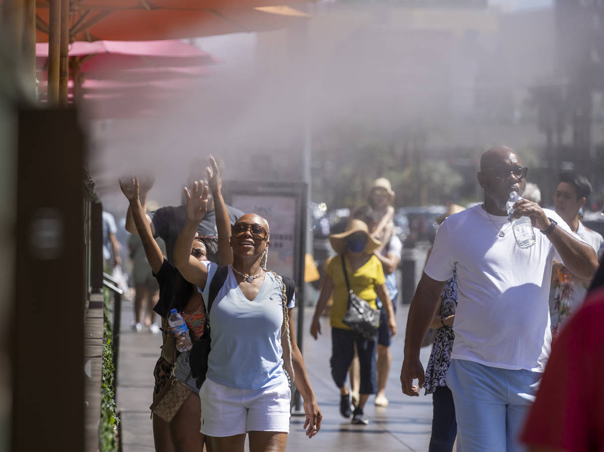 Las Vegas weather: Heat to escalate through weekend   Las ...
