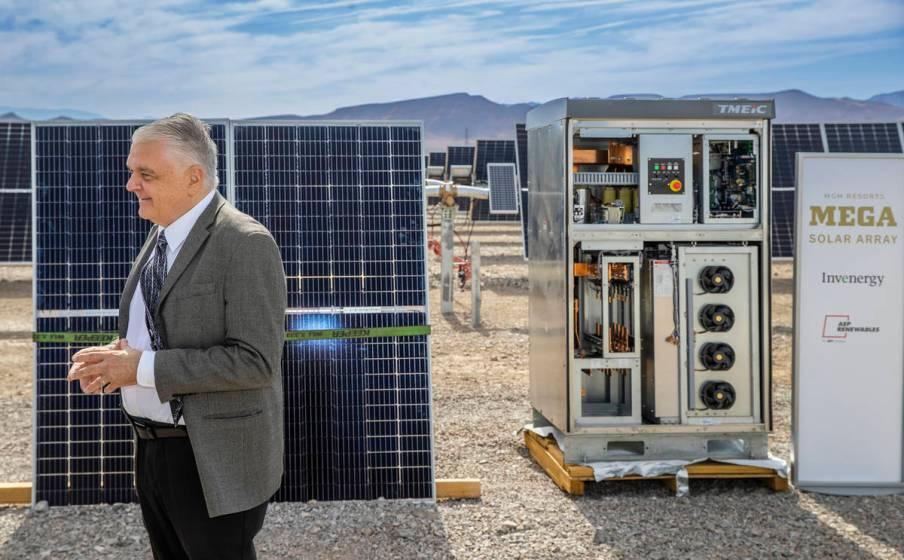 100-megawatt solar array to provide power to 13 MGM hotels ...