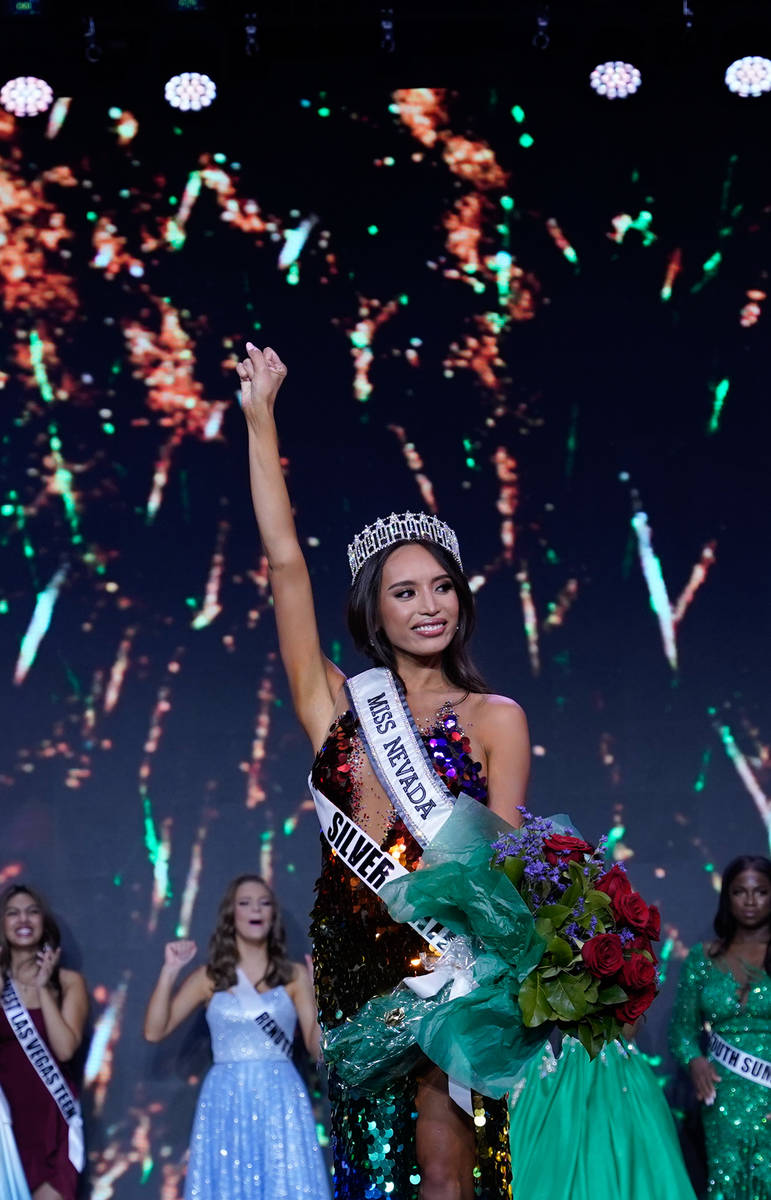 Kataluna Enriquez is the first transgender woman to win the title of Miss Nevada USA. (Marissa ...