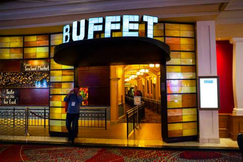 The Buffet at Bellagio will reopen in July. (Chase Stevens/Las Vegas Review-Journal) @csstevens ...