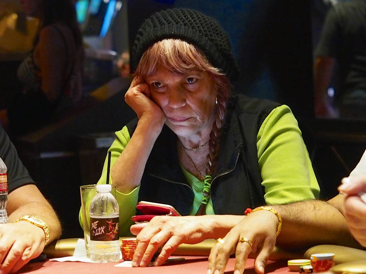 Barbara Enright plays in a World Poker Tour event at the Aria in an undated photo. (World Poker ...