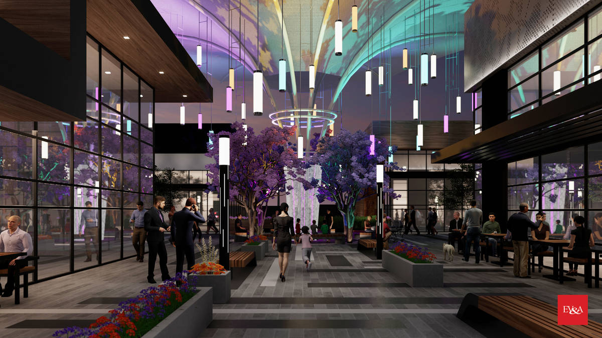 Ariva, an apartment complex under construction in Las Vegas near the M Resort, is expected to f ...