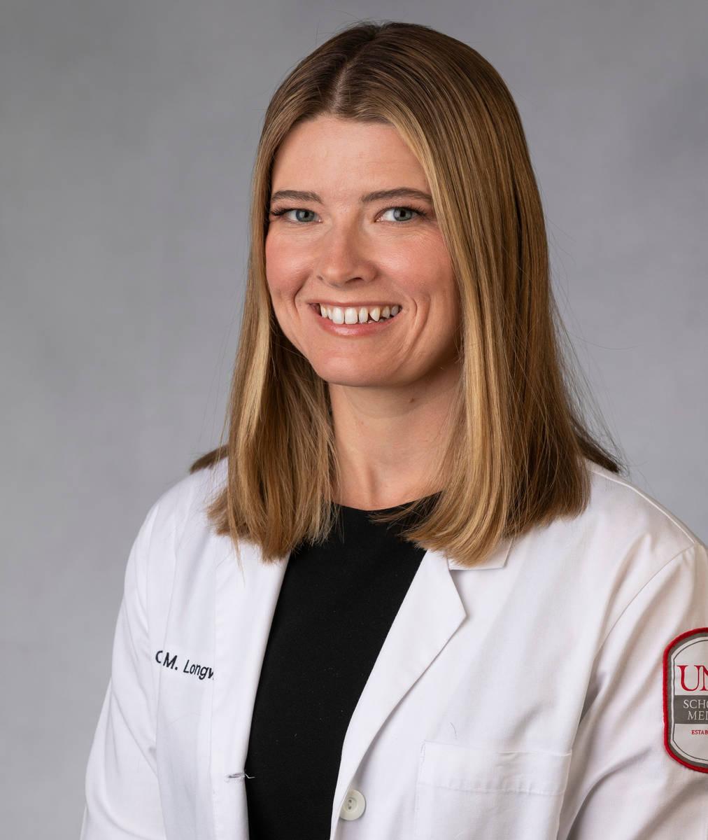 Caleena Longworth graduated from the UNLV Kirk Kerkorian School of Medicine in May 2021. (Lonni ...