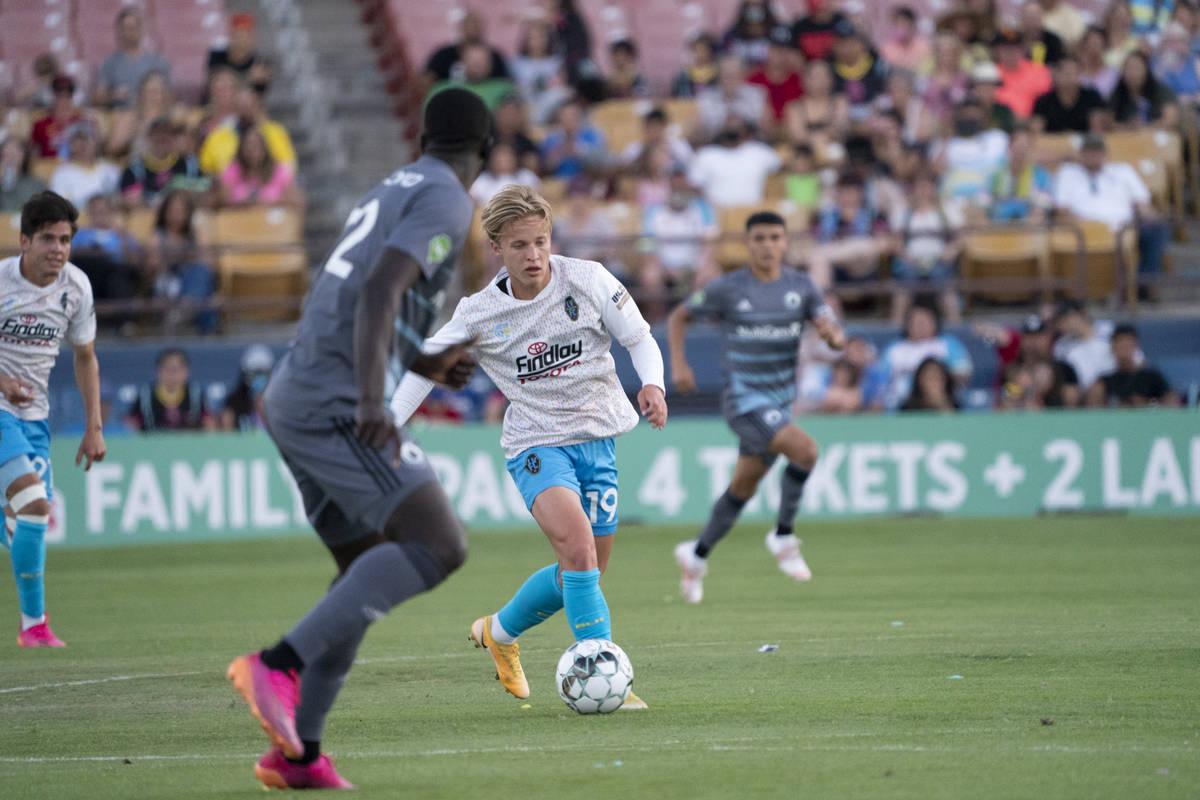 LAFC midfielder Bryce Duke was a standout in the Lights lineup on loan early in the season. He ...