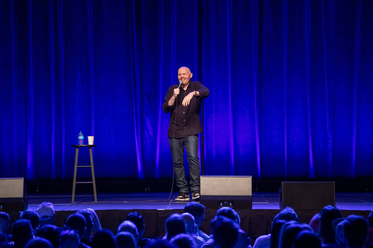Bill Burr is shown performing at the Chelsea at the Cosmopolitan of Las Vegas on Friday, July 2 ...