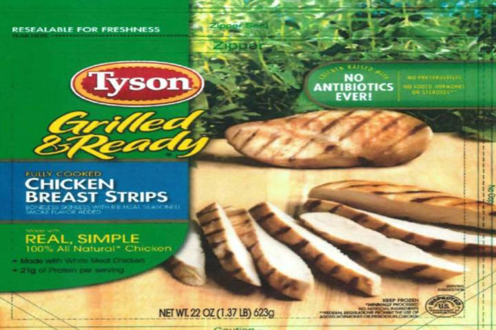 This is one of several products recalled by Tyson Foods Inc. on Saturday, July 3, 2021. (Tyson ...