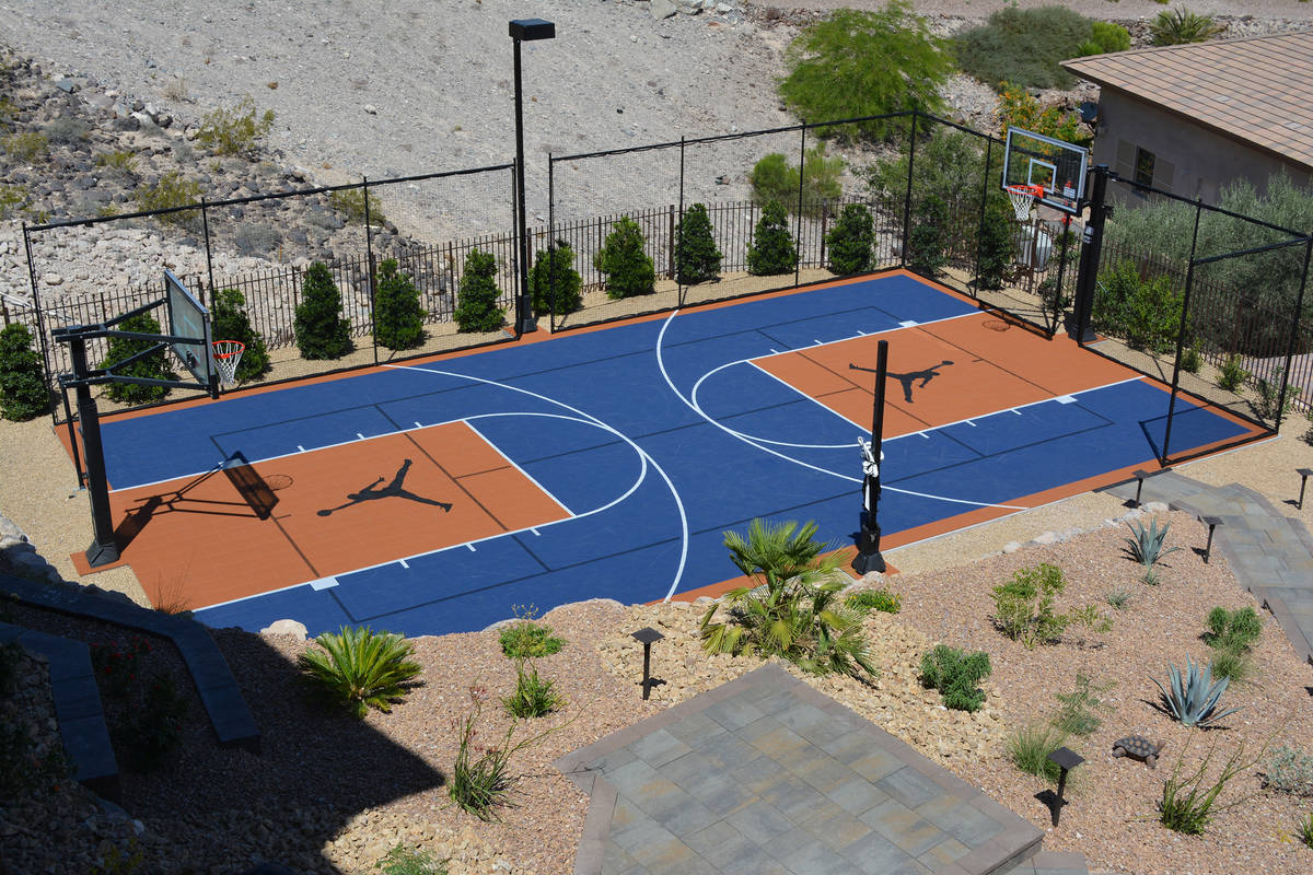 Sport Court Las Vegas' outdoor basketball courts provide a safe, high-performance surface that ...
