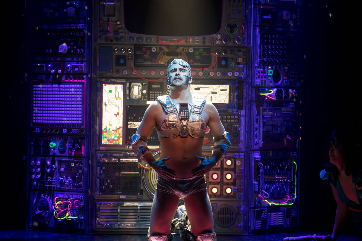 """The character Rob the Robot is shown during an undated performance of """"Opium"""" at the Cosmopolit ..."""