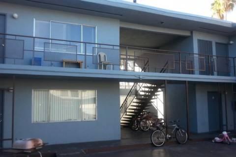 A midtown Las Vegas vintage apartment building at 2630 Sherwood St. is the fifth vintage apartm ...