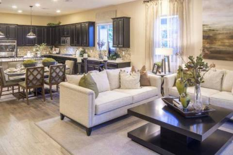Richmond American Homes' Tessitura and Verismo neighborhoods each have model homes left for s ...
