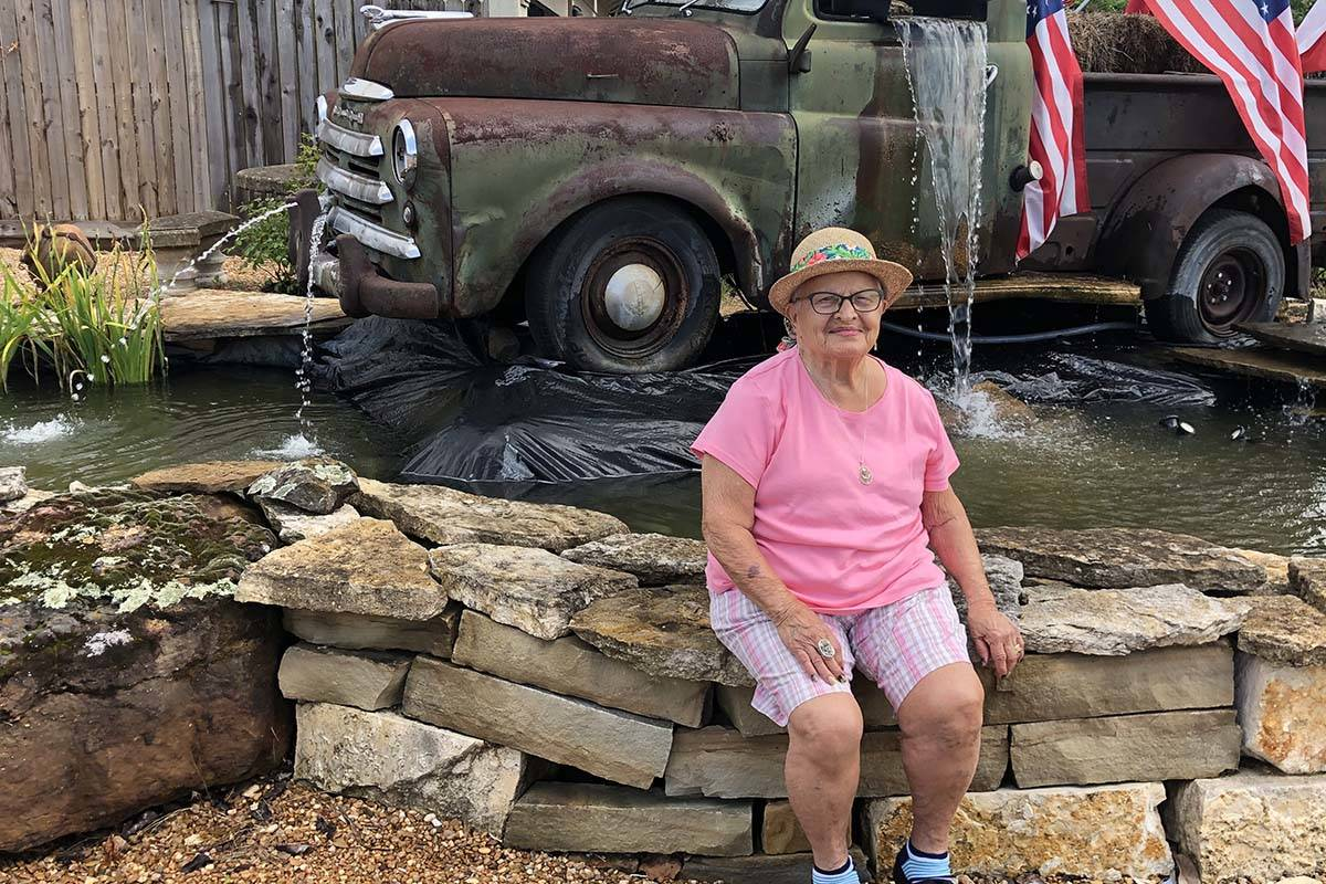 Arlene Johnson will turn 100 on Saturday. (Nancy LaPointe)