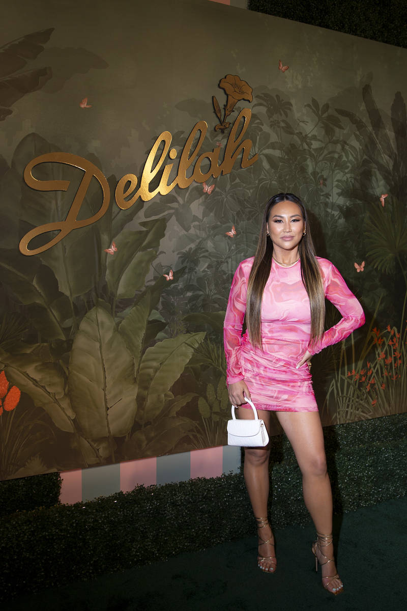 Dorothy Wang, actress and travel/lifestyle influencer, poses for photographers upon arrival at ...