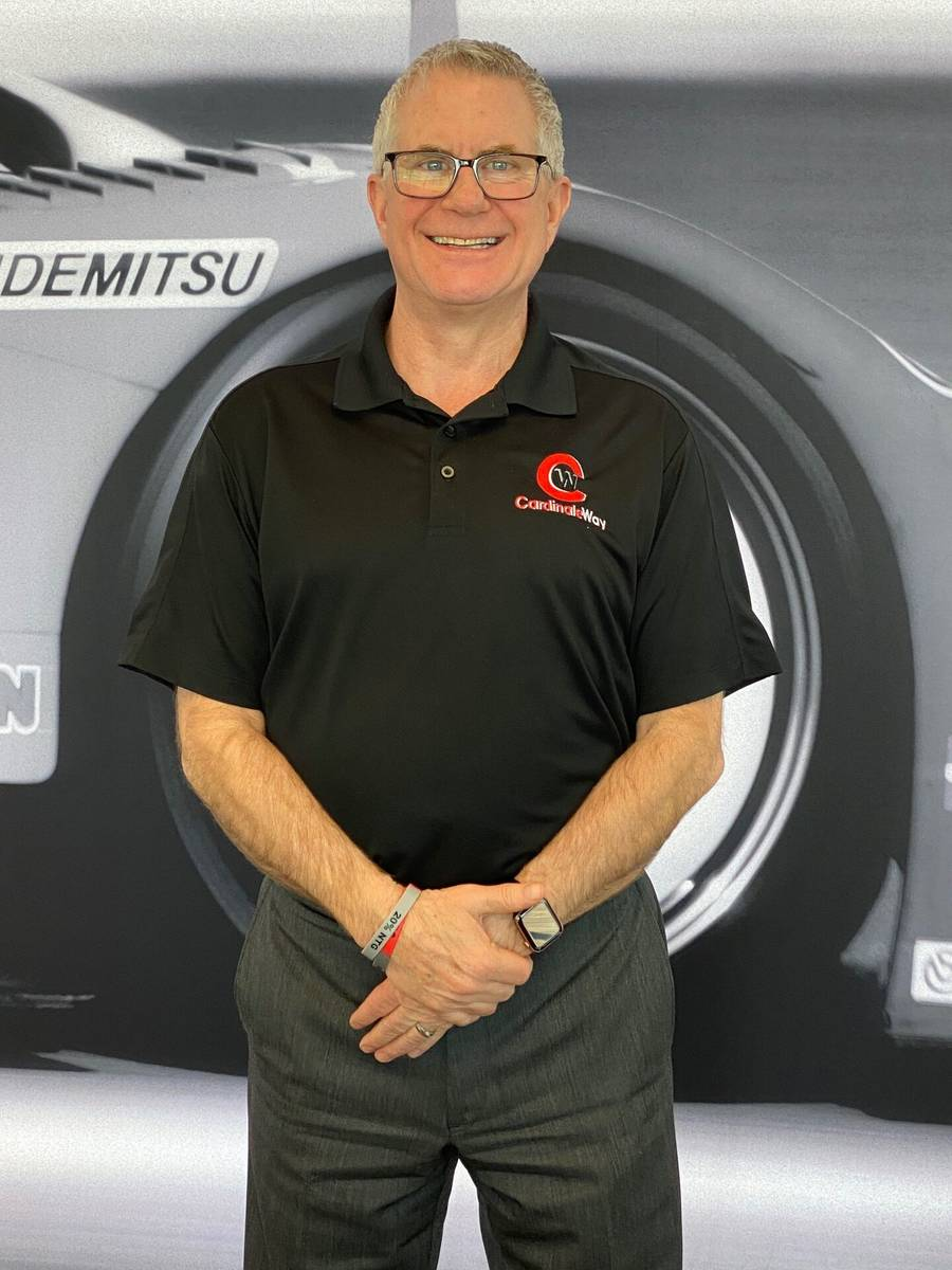 Stephen Beecher is the executive general manager of CardinaleWay Acura and CardinaleWay Mazda d ...