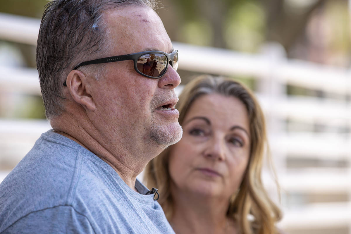 Marty and Tami Slatsky talks about their daughter Tiffany Slatsky following the court hearing f ...