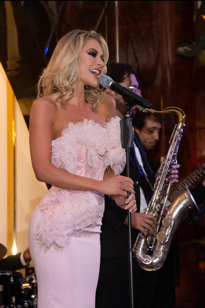 Savannah Lynx is shown at Delilah at Wynn Las Vegas on Friday, July 9, 2021. (Chris Poore)