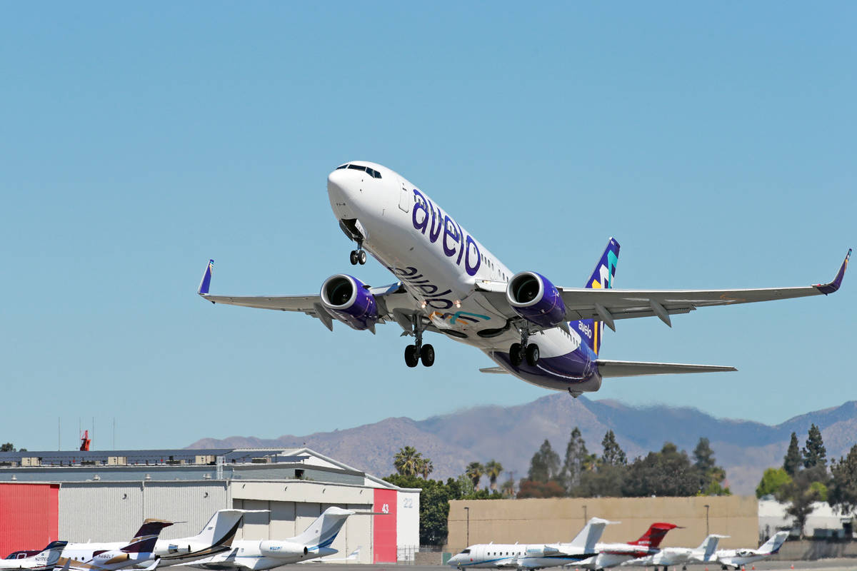 Avelo Airlines set to offer flight service between Las Vegas and Sonoma, California this fall. ...