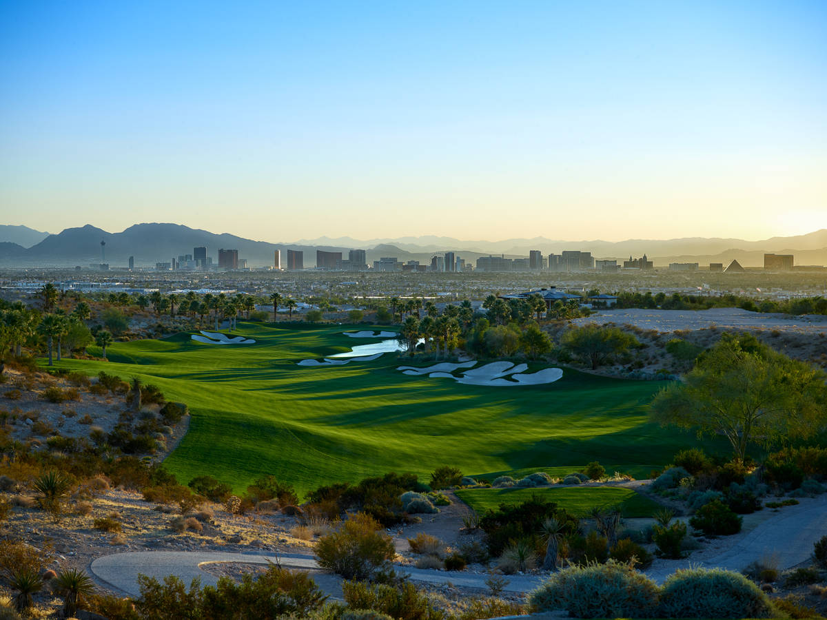 The Summit Club in Summerlin features an exclusive golf course for its members. (The Henebrys)