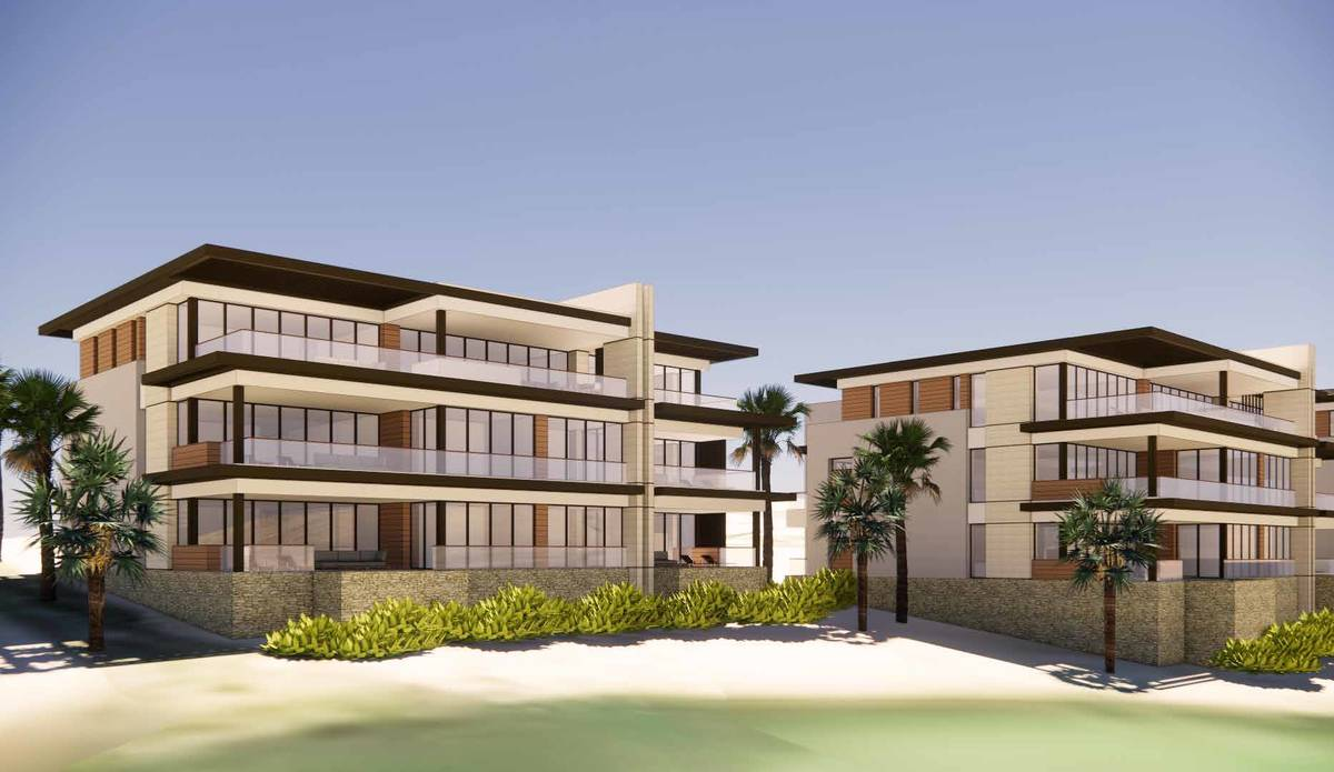 This artist's rendering shows The Summit Club's planned Canyon Suites, which will include 20 co ...