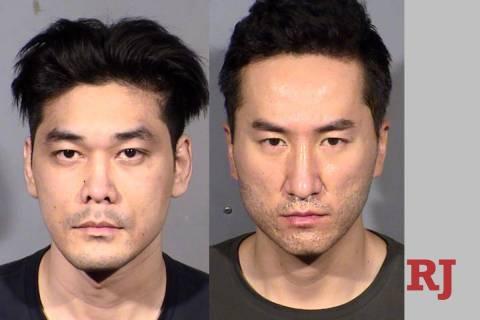 Daniel Dinh, left, and Kenneth Jeon (Las Vegas Metropolitan Police Department)