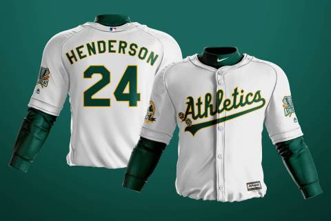 San Francisco-based art director Kyle Tellier designed what could be the potential A's uniforms ...