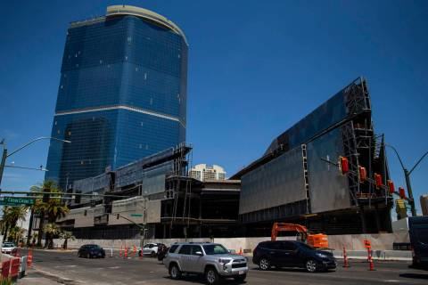 The former Drew Las Vegas resort-casino photographed in Las Vegas on Tuesday, July 20, 2021. (C ...