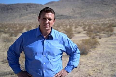 John Kovacs, a Henderson construction contractor, is running for Congress in Nevada's 3rd Distr ...