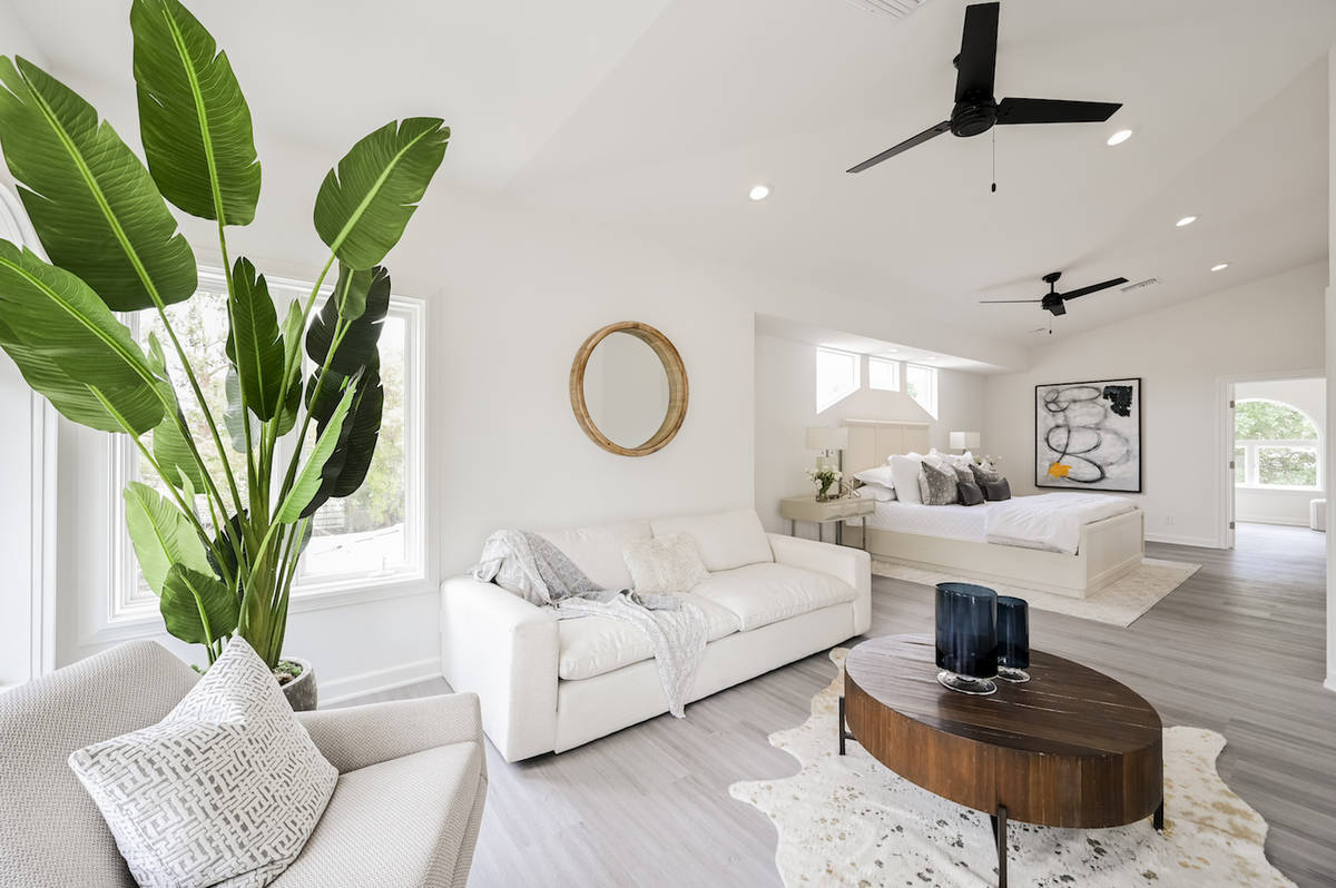 The 5,980-square-foot home has a large master suite and four other bedrooms. (LUXE Estates & Li ...
