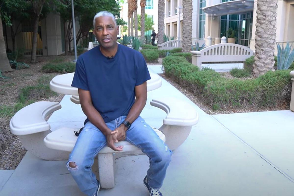 "Sgt. Tom ""T.J."" Jenkins (Las Vegas Metropolitan Police Department/YouTube)"