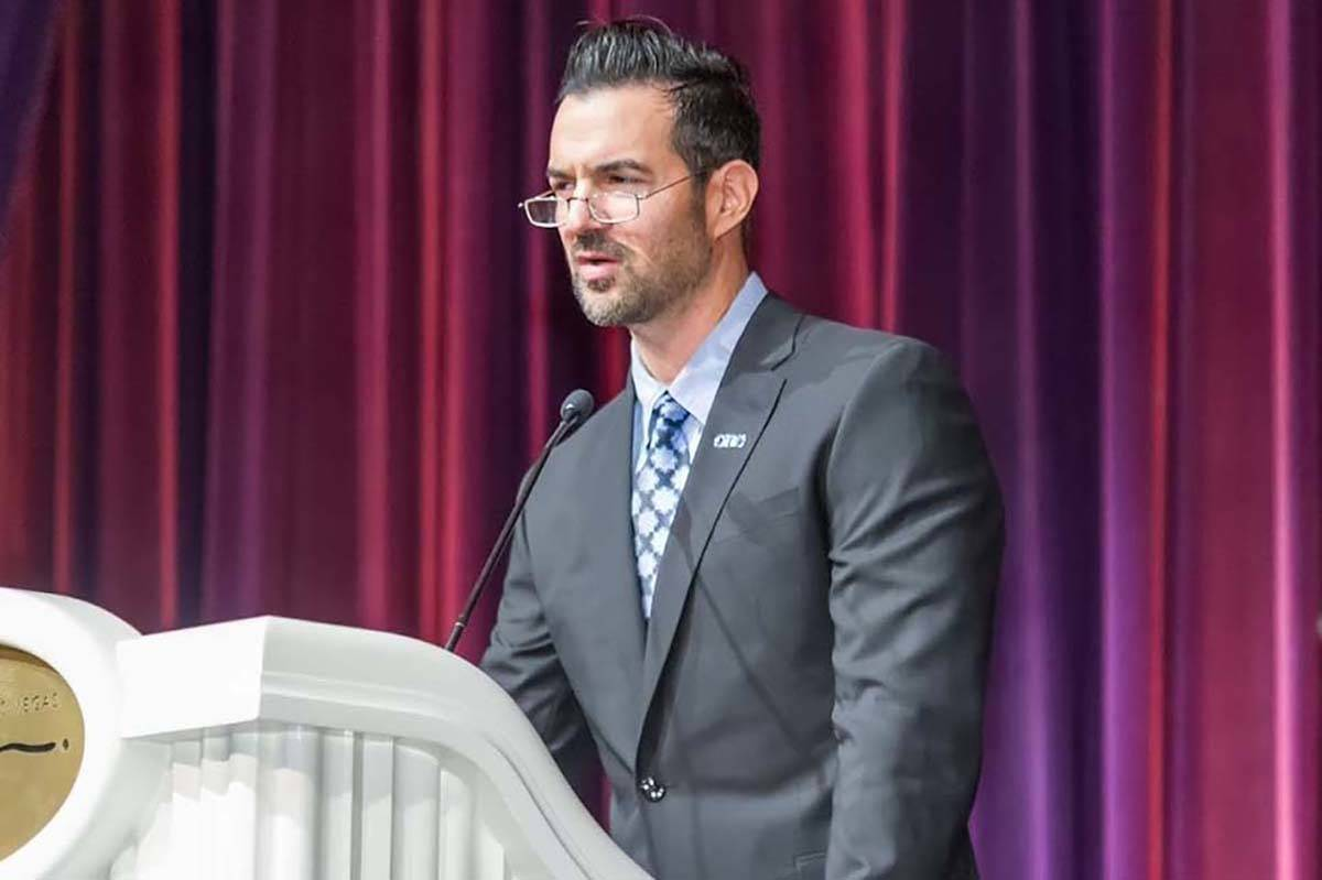 Henderson attorney and small business owner Noah Malgeri is running for the Republican nominati ...