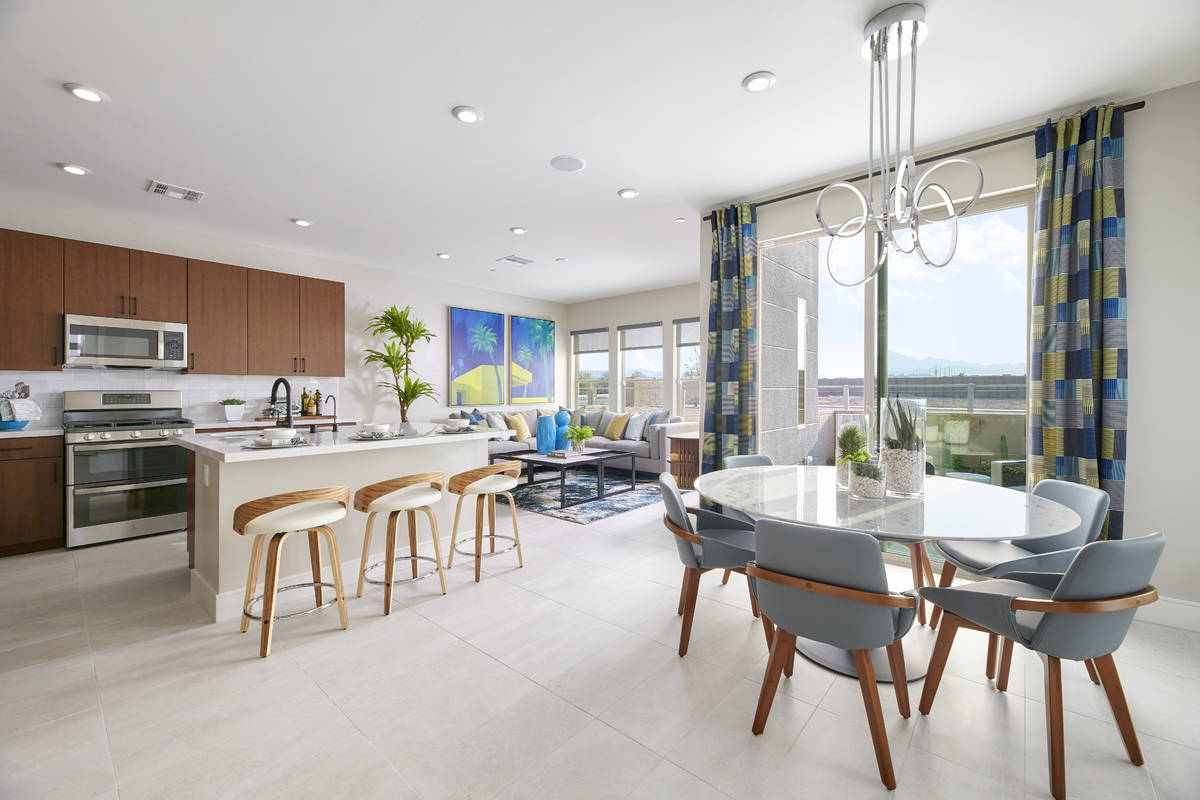 Tri Pointe Homes' new town home community, Contour, offers affordability, modern architectural ...