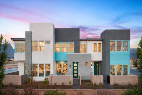 Contour, a town home community by Tri Pointe Homes in the southwest valley, is planned to open ...