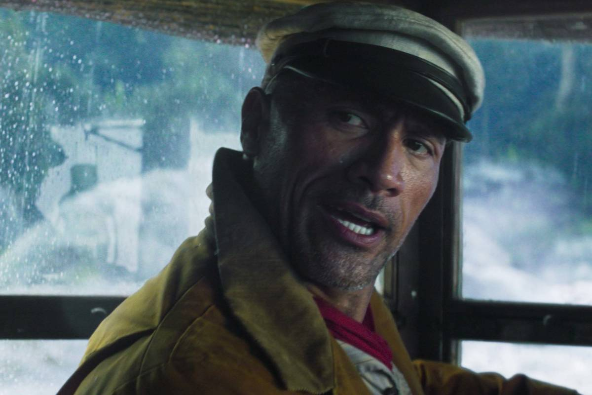 """This image released by Disney shows Dwayne Johnson in a scene from """"Jungle Cruise."""" ( ..."""