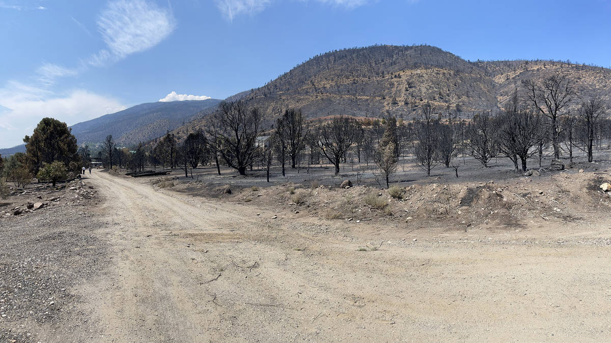 The Tamarack Fire scorched about 15,000 acres in Nevada and 68,000 acres overall. It was report ...