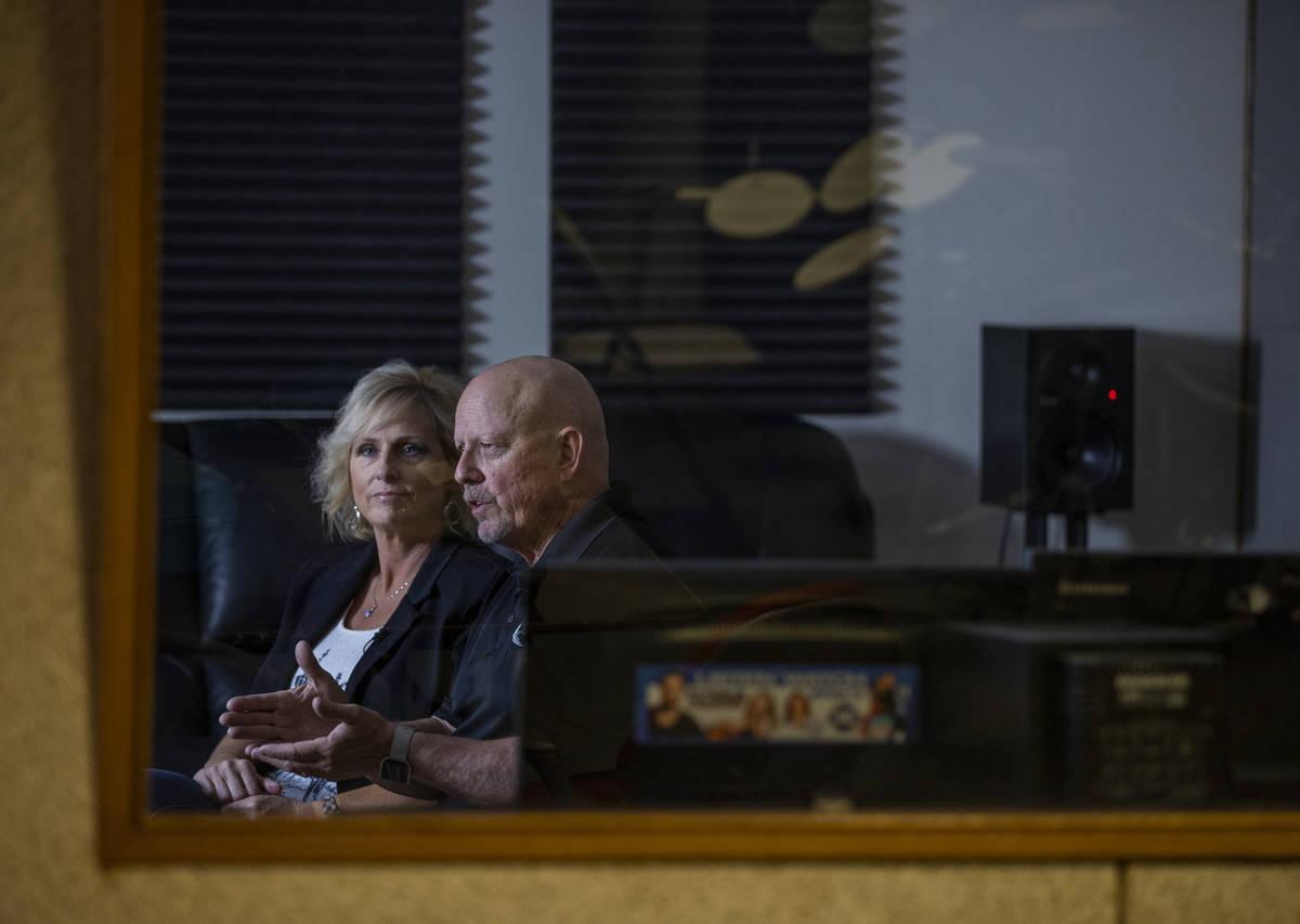KPVM 25 Co-Owner/Vice President Ronda Van Winkle and husband Co-Owner/President Vern Van Winkle ...