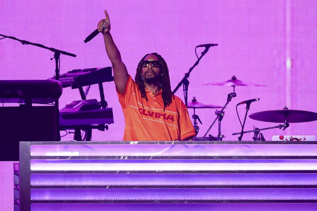 Lil Jon performs at the 2018 iHeartRadio Music Festival Day 2 held at T-Mobile Arena on Saturda ...