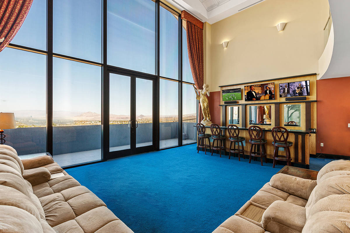 Tom Love Group Magician Lance Burton sold his Henderson hillside home for $4 million. He last p ...