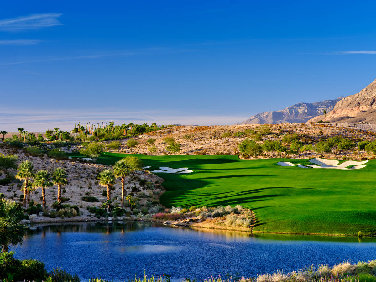 The Henebrys The Summit Club in Summerlin has set the price-per-square-foot record for the vall ...