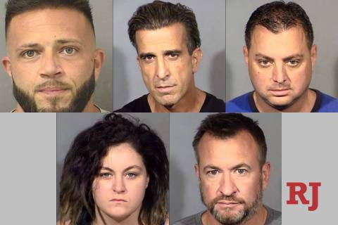 Clockwise from top left, Eric Gilleland, Oz Malka, Aviv Mordechai, Mario Samson and Ashley Royb ...