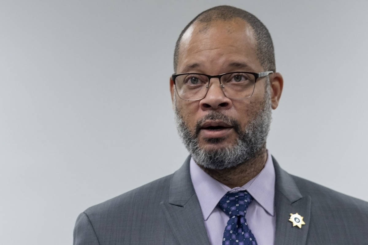 Nevada Attorney General Aaron Ford, seen in 2020. (Las Vegas Review-Journal)