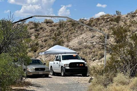 Detectives with the Nye County Sheriff's Office are investigating a homicide Sunday, Aug. 1, ...
