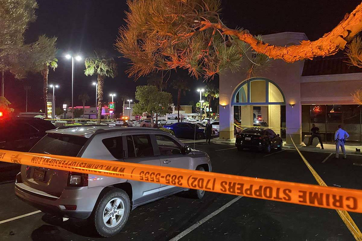 Las Vegas police are investigating a fatal stabbing at a northwest Las Vegas hookah lounge on W ...